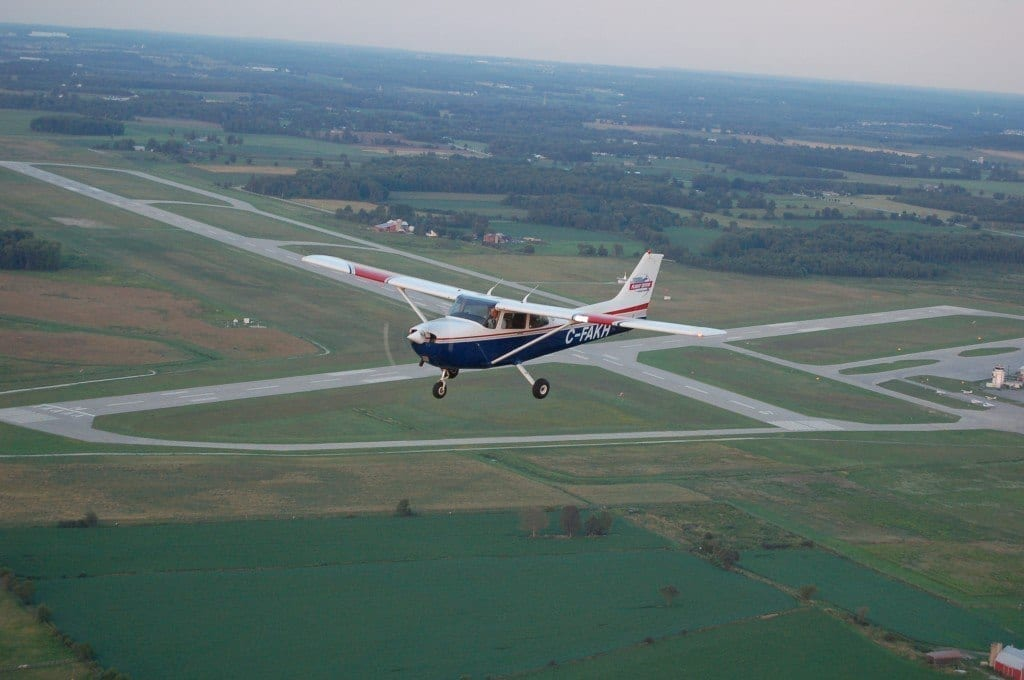 Fly out of the Region of Waterloo Airport