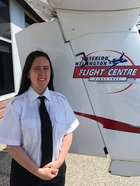 Rebecca Bailey, Flight Instructor