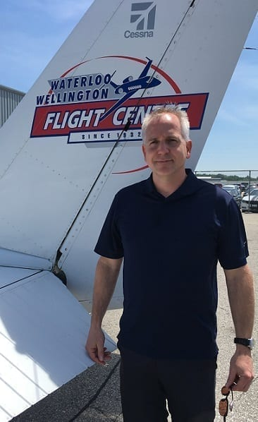 Chris Borutskie, Flight Instructor