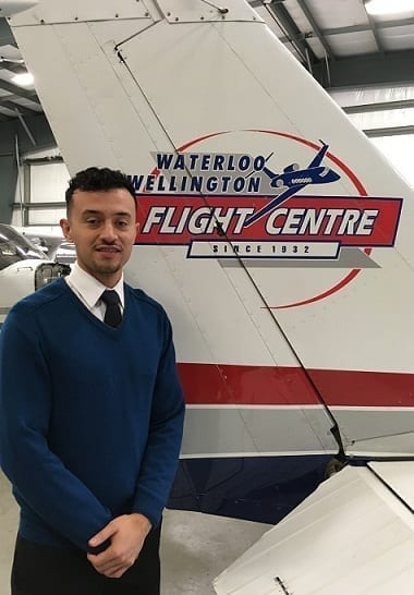 Cristian Garzon, Flight Instructor